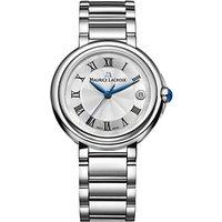 Maurice Lacroix FA1007-SS002-110-1 Womens Fiaba Date Bracelet Strap Watch, Silver