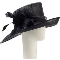 John Lewis Mila Side Up Occasion Hat, Black
