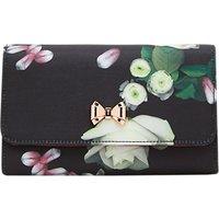 Ted Baker Jajaa Kensington Floral Clutch Bag, Black