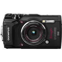 Olympus Tough TG-5 GPS Waterproof, Freezeproof, Shockproof, Dustproof Compact Digital Camera, 12MP, 4K UHD, 4x Optical Zoom, Wi-Fi, RAW Shooting, 3 LCD Screen