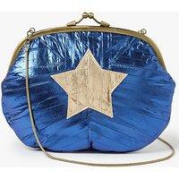 Becksondergaard Granny Star Clutch Bag, Medieval Blue
