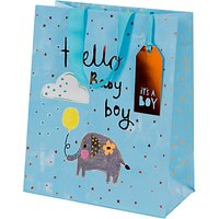 Paper Salad Hello Baby Gift Bag, Large