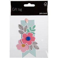 John Lewis 3D Flower Tag