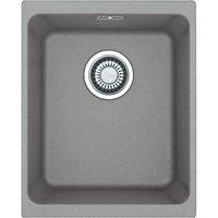 Franke Kubus KBG 110 34 Single Bowl Undermounted Kitchen Sink, Fragranite