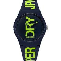 Superdry Urban Fluoro Silicone Strap Unisex Watch