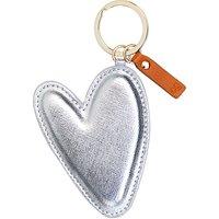Caroline Gardner Large Heart Keyring