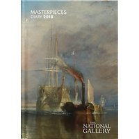 The National Gallery A5 Masterpieces 2018 Diary