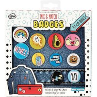 NPW Mix & Match Patches & Badges, Set of 10