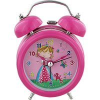 Rachel Ellen Princess Alarm Clock, Pink
