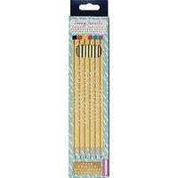 NPW Fancy Pencils, Pack of 6