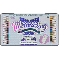 NPW Mermaid 50/50 Double Ended Colouring Pencils, Pack of 12