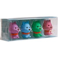 Tinc Dogs Scented Erasers, Set of 4