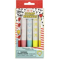 NPW Vibe Squad Stamp Marker Pens, Pack of 5