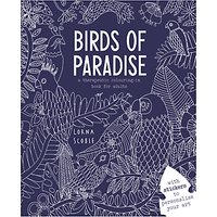 Birds of Paradise Colouring Book