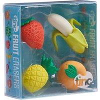 Tinc Fruit Scented Eraser, Set of 4