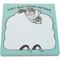 Gemma Correll Busy Doing Nothing Sticky Notes