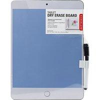Kikkerland Tablet Erase Board, Assorted