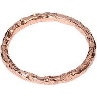 Matthew Calvin Thin Meteorite Stacking Ring, Rose Gold