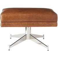 west elm Hemming Leather Footstool