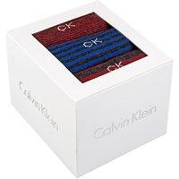 Calvin Klein Striped Sock Gift Box, Pack of 3, Multi