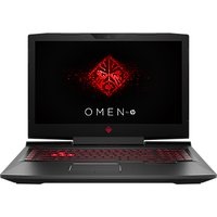 "HP OMEN 17-an013na Laptop, Intel Core I7, 8GB, 1TB, NVIDIA GeForce GTX 1060, 17.3"", Shadow Black"