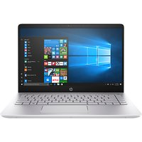 HP Pavilion Pro 14-bf008na Laptop, Intel Core i5, 8GB RAM, 256 GB M.2 SSD, 14, Mineral Silver