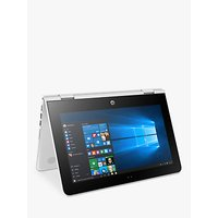 HP Stream X360 11-aa003na Convertible Laptop, Intel Celeron, 2GB RAM, 32GB eMMC, 11.6 HD Touch Screen, Snow White