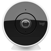 Logitech Circle 2 Indoor & Outdoor Wired Security Camera, White