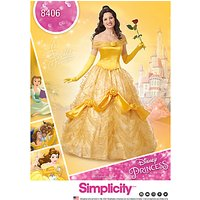 Simplicity Womens Disney Princess Costume Sewing Pattern, 8406