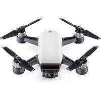 DJI Spark Mini Drone, Alpine White