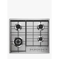AEG HG644351SM Integrated Gas Hob, Stainless Steel