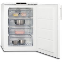 AEG ATB81011NW Freestanding Under Counter Freezer, A+ Energy Rating, 60cm Wide, White