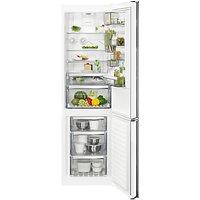 AEG RCB83724MW Freestanding CustomFlex Fridge Freezer, A++ Energy Rating, 64cm Wide, White