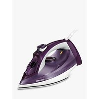 Philips GC2995/37 PowerLife Steam Iron, Purple/White