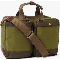 Barbour Archive Waxed Cotton Business Bag, Olive