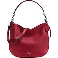 Coach Chelsea 32 Polished Leather Hobo Bag