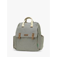 Babymel Robyn Convertible Backpack, Navy Stripe