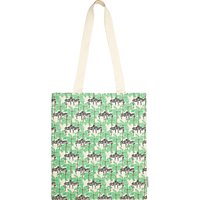 Fenella Smith Zebra and Palm Tree Canvas Tote Bag