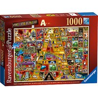 Ravensburger Awesome Alphabet Jigsaw Puzzle, 1000 pieces