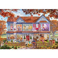 Gibsons Autumn House Jigsaw Puzzle, 1000 Piece