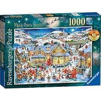 Ravensburger Which Ones Santa? Jigsaw Puzzle, 1000 Pieces