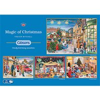 Gibsons The Magic Of Christmas, 4 x 500 pieces