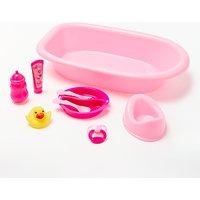 John Lewis Bath Tub and Accessories Playset