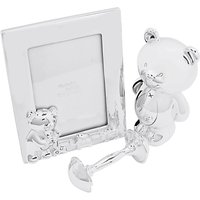 John Lewis Silver Plated Teddy Gift Set