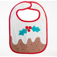 John Lewis Baby Christmas Pudding Bib