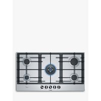 Bosch PCR9A5B90 Integrated Gas Hob, Stainless Steel