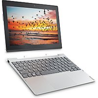 Lenovo Miix 320 Tablet with Detachable Keyboard, Intel Atom, 2GB RAM, 32GB eMMC, 10.1 Touch Screen, Wi-Fi, Snow White