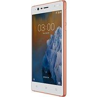 Nokia 3 Smartphone, Android, 5, 4G LTE, SIM Free, 16GB