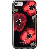 kate spade new york Jewelled Poppy Case for iPhone 7, Black/Multi
