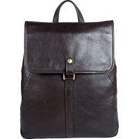 Hidesign Craig 01 Leather Backpack, Brown